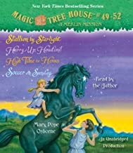 Magic Tree House Collection: Books 49-52: Stallion by Starlight; Hurry Up, Houdini!; High Time for Heroes; Soccer on Sunday (Magic Tree House (R))