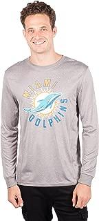 Ultra Game Men's NFL Athletic Quick Dry Long Sleeve T-Shirt, Arizona Cardinals