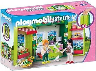 Playmobil City Life Flower Shop Play Box, Multi-Colour, 5639