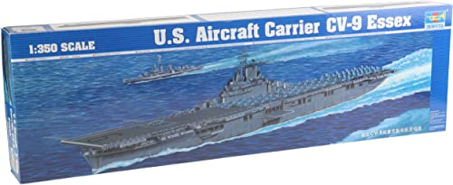 Trumpeter 05602modèle Kit Porte-Avions USS Essex CV 9