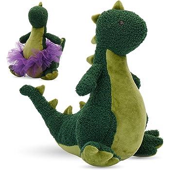 Plush Dinosaur Stuffed Animal Dinosaur Toy for Baby Girl Boy Kids Birthday Gifts Marsjoy 14 Pink Stuffed Dinosaur Plush Toy