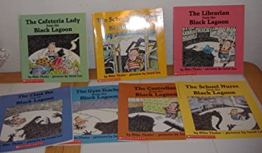 Black Lagoon Series: The Class Pet, the Gym Teacher, the Librarian, the School Nurse, the School Bus Driver, the Cafeteria Lady, the Custodian (7 Books From Black Lagoon Series Paperback)