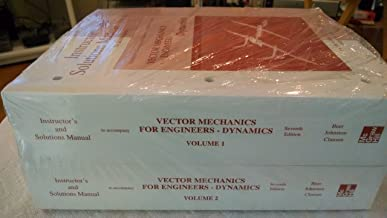 Instructor's and Solutions Manual to Accompany Vector Mechanics for Engineers - Dynamics (2 Volume Set)
