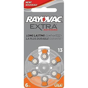 Rayovac Extra Advanced Hörgerät Batterien Elektronik
