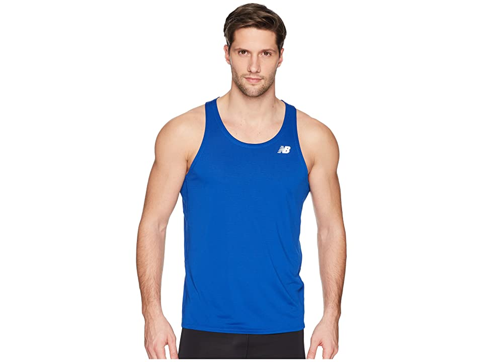 New Balance Accelerate Singlet (Team Royal) Men
