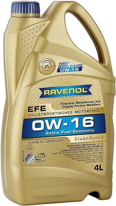 Ravenol Efe Extra Fuel Economy Sae 0w 16 Auto