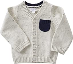 Mud Pie - Speckled Button Up Sweater (Infant)