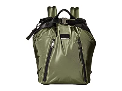 Tumi Alpha Bravo Grant Backpack (Forest) Backpack Bags