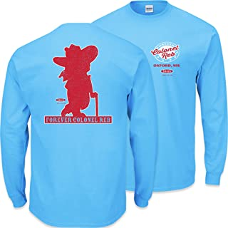 Ole Miss Football Fans. Forever Colonel Reb T Shirt (Sm-5X) or Sticker