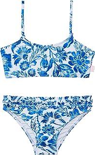 Seafolly Girls' Shirred Tankini Swimsuit Set