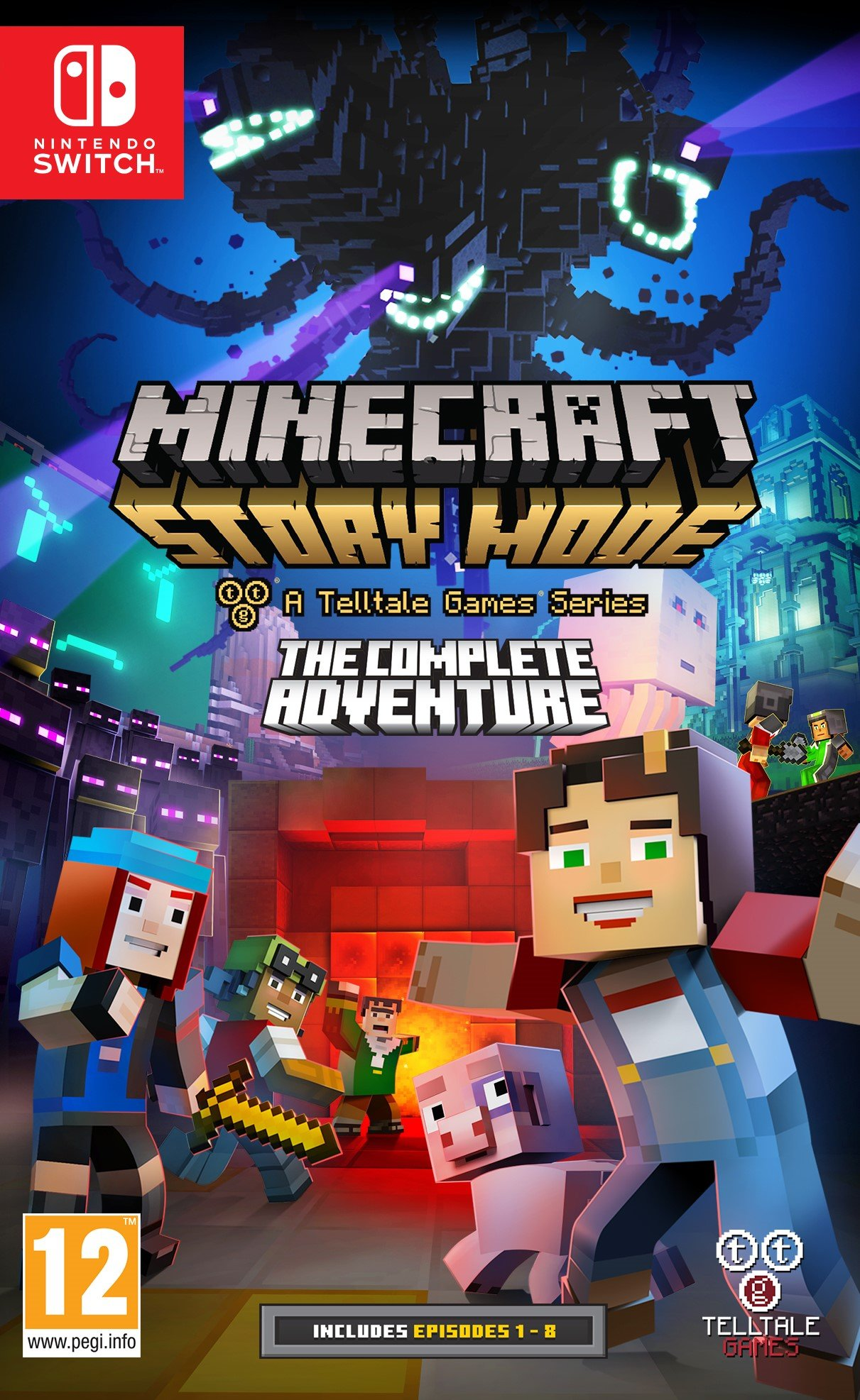 Minecraft: Story Mode - The Complete Adventure (Switch): Amazon.es ...