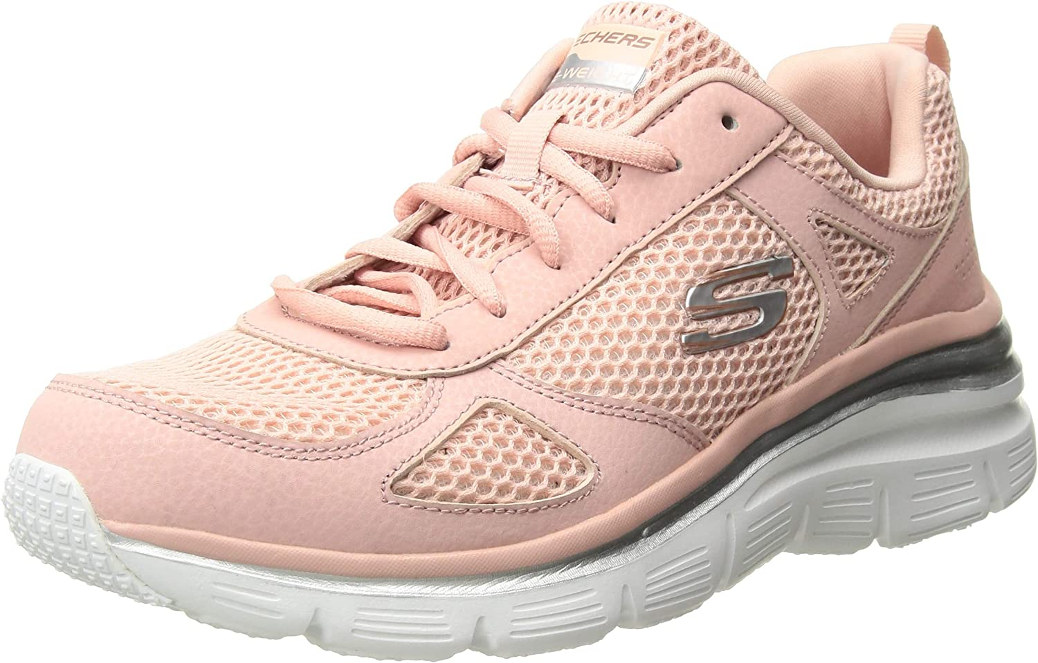 Skechers Women's Fashion FIT-Perfect Mate Sneaker, pnk, 6 M US