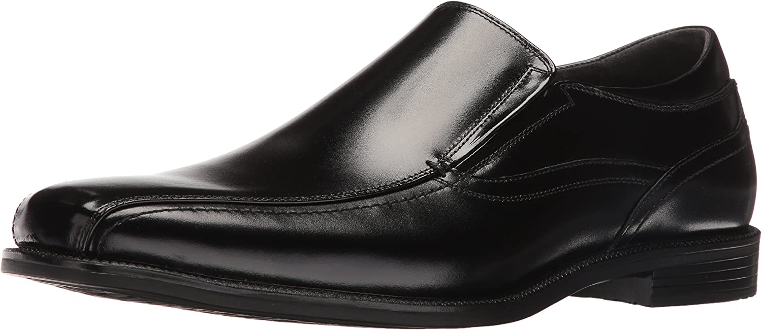 Florsheim Men's Portico Bike Toe Slip on Oxford Black