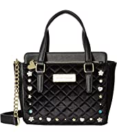 Betsey Johnson - Winged Medium Satchel