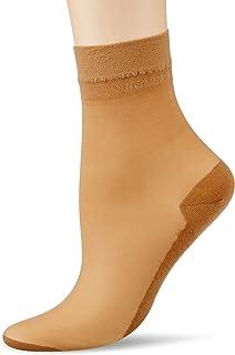 KUNERT Damen Cotton Sole Socken, 20 DEN