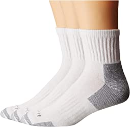 Cotton Quarter Work Socks 3-Pack