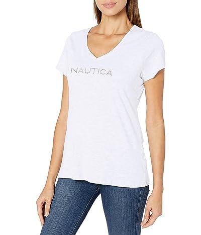 Nautica Easy Comfort Supersoft 100% Cotton Classic Logo T-shirt