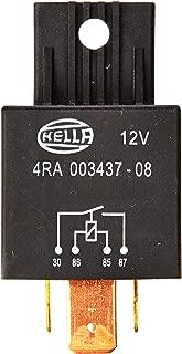 HELLA 4RA 007 791-021 Rel/è con resistenza 12V con supporto Corrente di lavoro