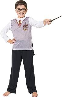 Boys' Big Ls Gryffindor Uniform with Cape 3 Piece Pj Set