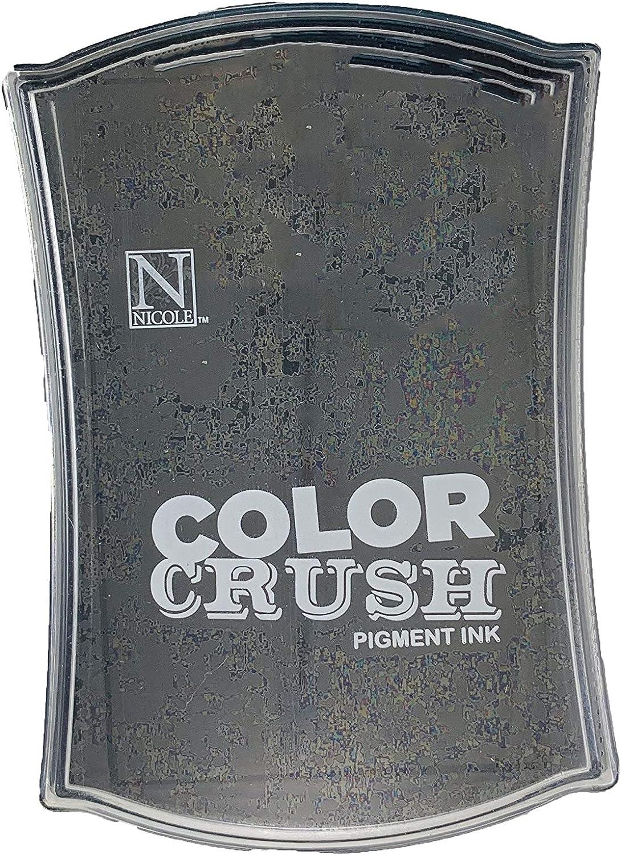 Hampton Art Color Crush Pigment - Pad Ink Super popular specialty store Cheap bargain Black