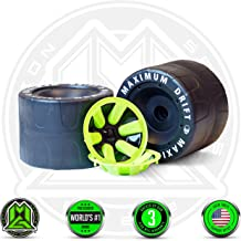 MADD GEAR – DRIFT TRIKE REPLACEMENT REAR WHEELS SET - Black Green – World's #1 Pro Scooter Brand – Built to Last! Madd Gear Est. 2002