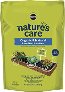 Nature's Care Organic & Natural Raised Bed Plant Food