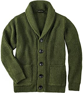 Fubotevic Mens Knitted Open Front Casual Sleeveless Longline Hooded Cardigan Sweater