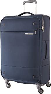 Samsonite 109257 Base Boost 2 Spinner Expandable Suitcase, Navy, 71 Centimeters