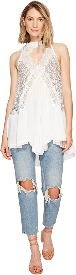 Tell Tale Heart Sleeveless Top