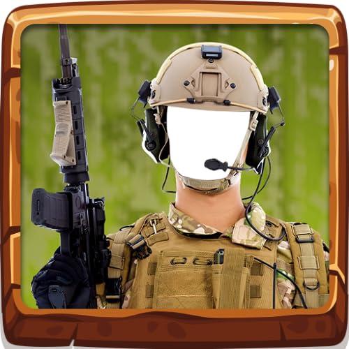 Cámara fotográfica Selfie del ejército
