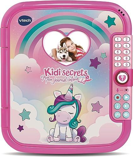 VTech - KidiSecrets - Mon Journal Intime Magique, Journal Intime Électronique – Version FR