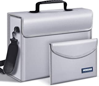 Fireproof Document Bags,Extra Large (17