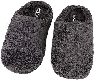 Greenery-GRE Memory Foam Indoor Slippers for Women Men Soft Warm Fleece Non-Slip Home Bedroom Shoes Slip on Cozy Footwear