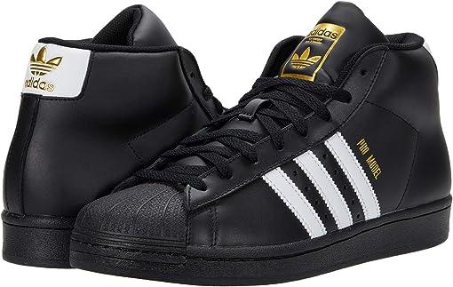 Core Black/Footwear White/Gold Foil