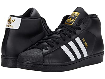 adidas Originals Pro Model (Core Black/Footwear White/Gold Foil) Men