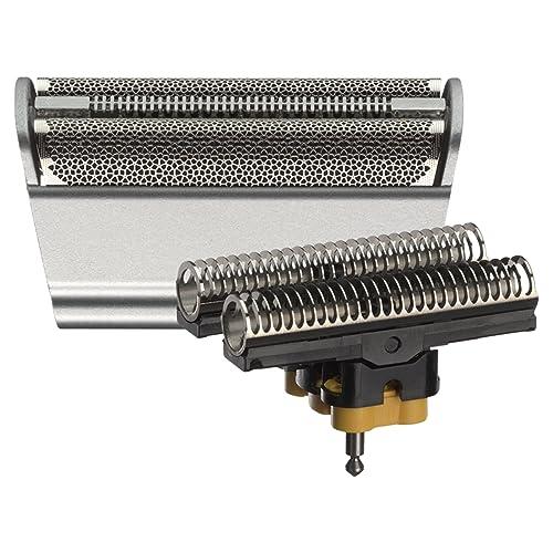 Braun Pièce de Rechange 31S Argentée pour Rasoir Compatible avec les Rasoirs Series 3