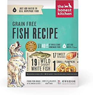 Honest Kitchen Human Grade Dehydrated Grain Free Fish Dog Food 10 lb - Zeal