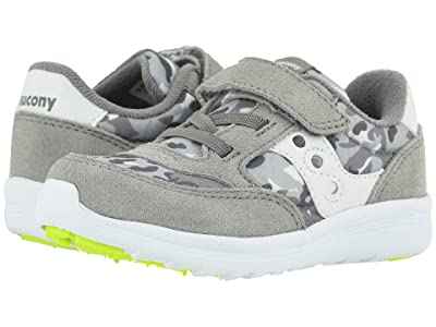 Saucony Kids Originals Jazz Lite (Toddler/Little Kid) (Grey Camo) Boys Shoes