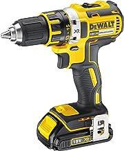DeWALT DCD790S2 drill Negro, Amarillo 1,62 kg - Taladro eléctrico (1,3 cm, 3,8 cm, 60 Nm, 23 Nm, 600 RPM, 2000 RPM)