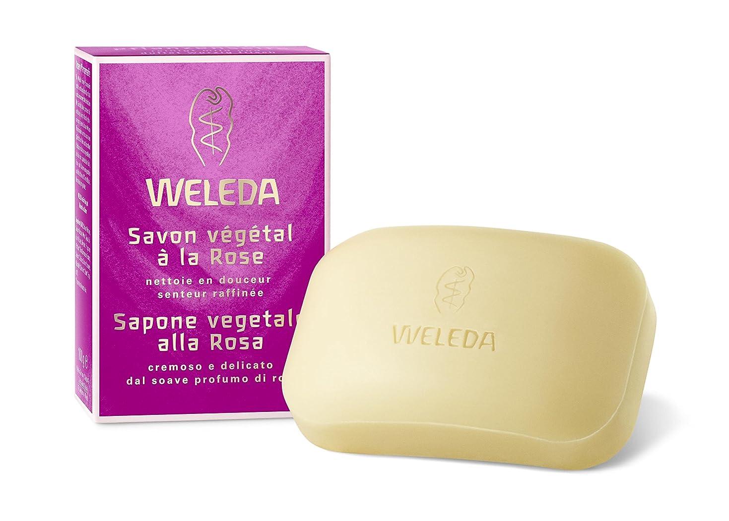 それにもかかわらずライバル先WELEDA(ヴェレダ) ローズ ソープ 100g【固形石鹼】