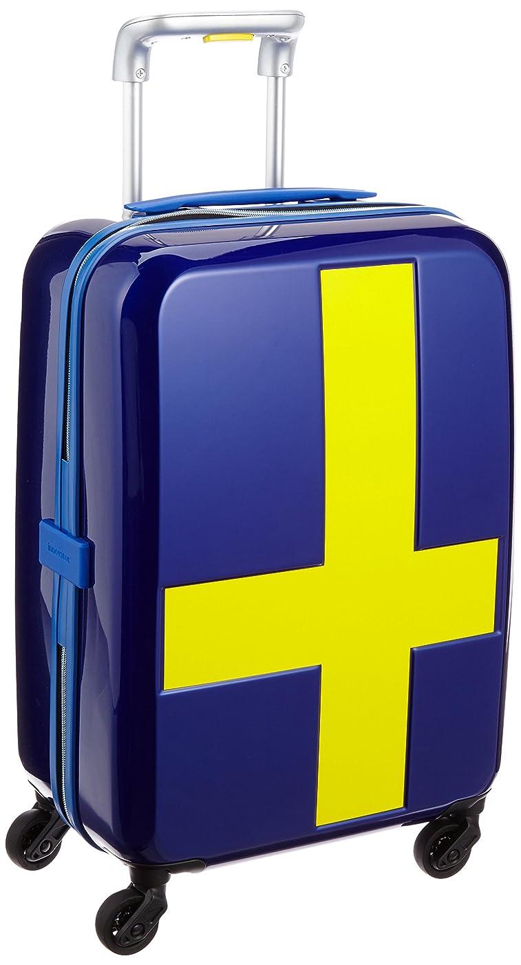 修羅場オリエンテーション繊毛[イノベーター] スーツケース ジッパー INV48T 消音/静音キャスター 機内持ち込み可 保証付 38L 55 cm 2.7kg