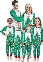 Matching Family Christmas Pajamas Boys Girls Deer Pjs Toddler Kids Children Sleepwear Women Men Pyjamas