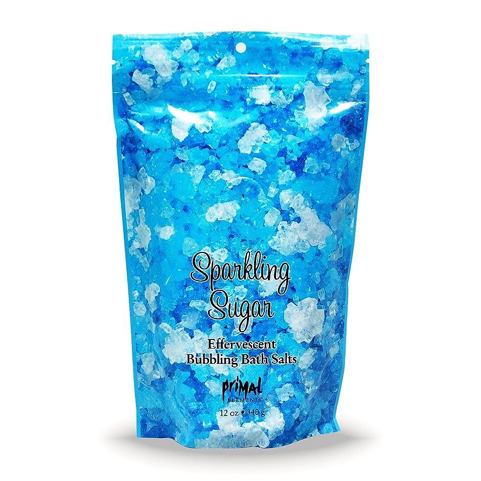 冷凍庫経度すばらしいですプライモールエレメンツ バブリング バスソルト/スパークリングシュガー 340g エプソムソルト含有 アロマの香りがひろがる泡立つ入浴剤