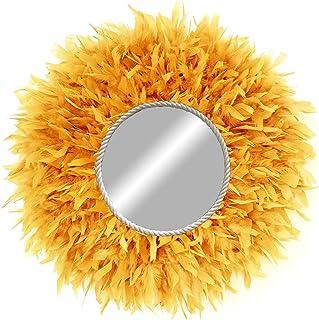 Juju hat espejo naranja - Juju Mirror para decoración en pared estilo nórdico