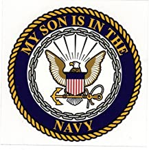 My Son is in The Navy with Logo 4