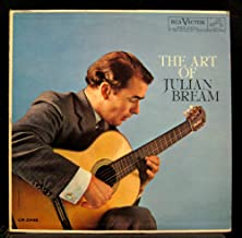 JULIAN BREAM the art of LP Used_VeryGoodLM-2448 Mono Shaded Dog RCA Vinyl 1960 Record
