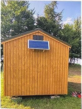 explore solar fans for shed amazon com