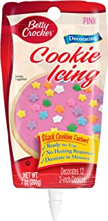 Signature Brands Betty Crocker Pink Decorating Cookie Icing, 7 oz