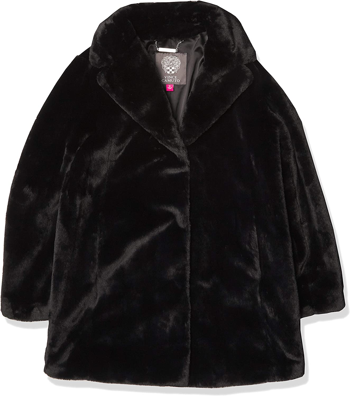 Vince Camuto Kids Outerwear Women's Chic and Warm Faux Fur Jacket