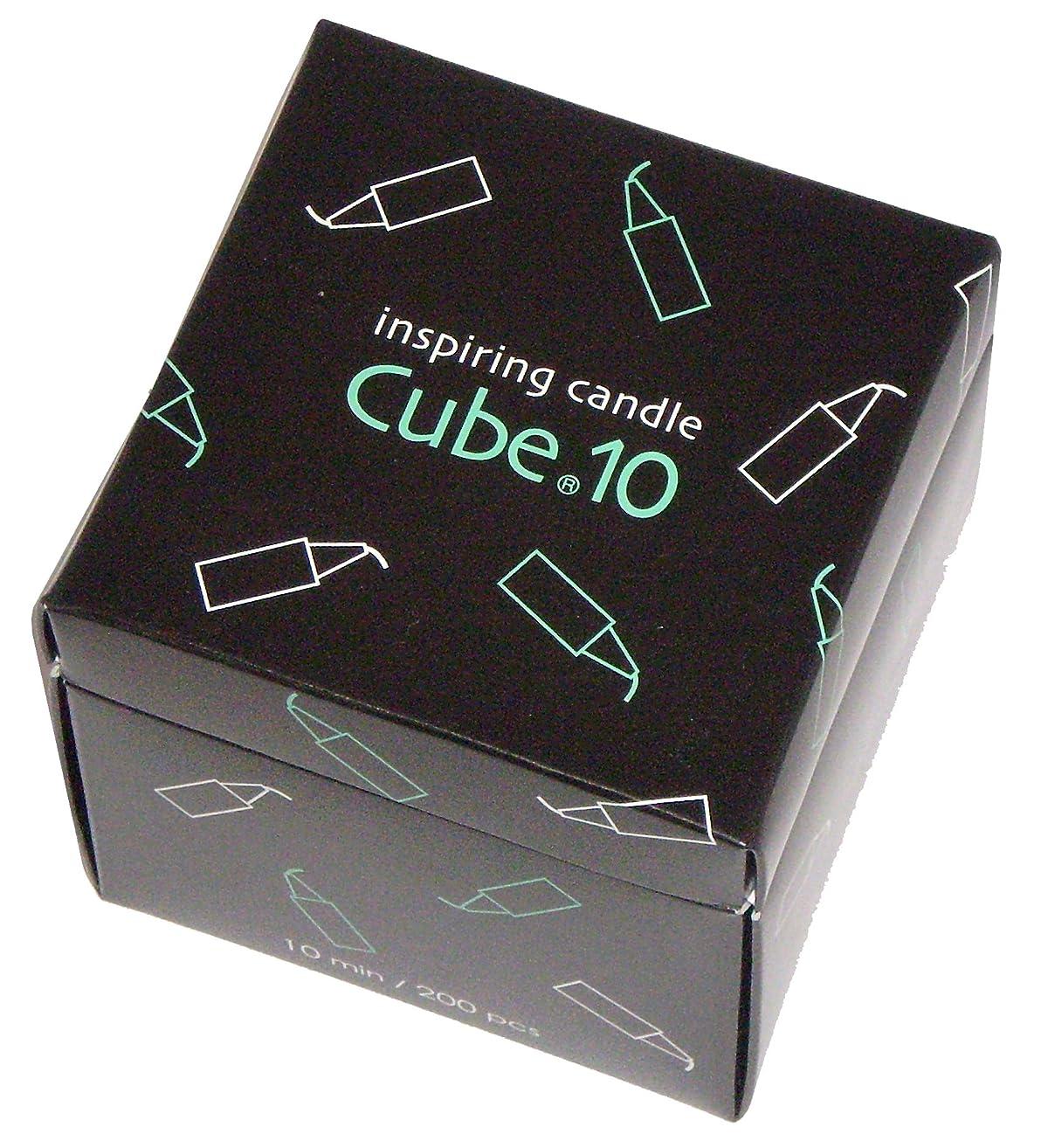 スポットきゅうりり東海製蝋のろうそく Cube.10 200本入 10分